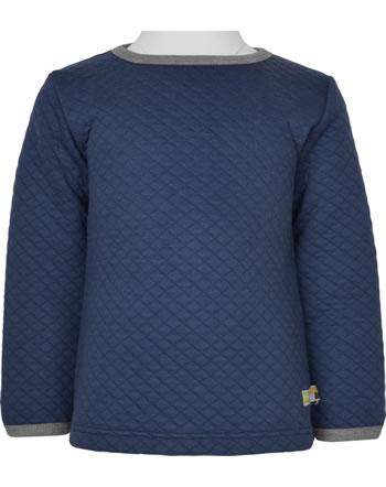 loud + proud Shirt Langarm WALDTIERE ultramarin 1080-ul GOTS