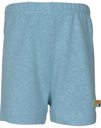 loud + proud Shorts mit Leinen UNTER DEM MEER lagoon 4108-lag GOTS