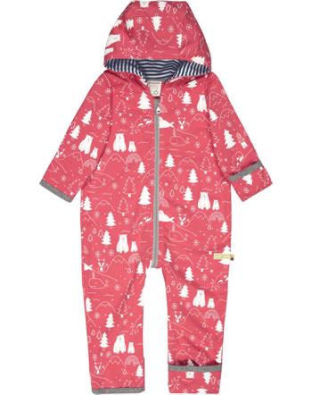 loud + proud Overall Sweat POLAR BEARS AND ORCAS melon 5081-mel