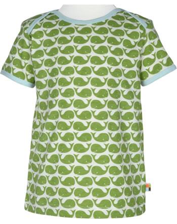 loud + proud T-Shirt Kurzarm BASIC WALE moos 204-mo GOTS