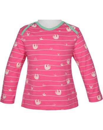 loud + proud T-Shirt Langarm ALLOVER FAULTIER azalea 1045-aza GOTS