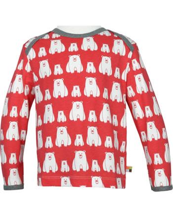 loud + proud T-Shirt Langarm EISBÄR UND ORCA melon 1050-mel