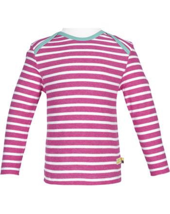 loud + proud T-Shirt Langarm Heavy Jersey RINGEL azalea 1047-aza GOTS