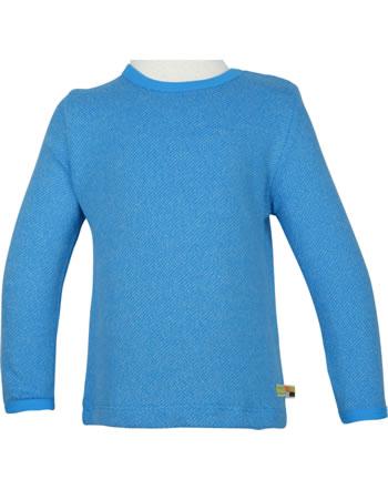 loud + proud T-Shirt Langarm Melange Strick EISBÄR UND ORCA aqua 1055-aq