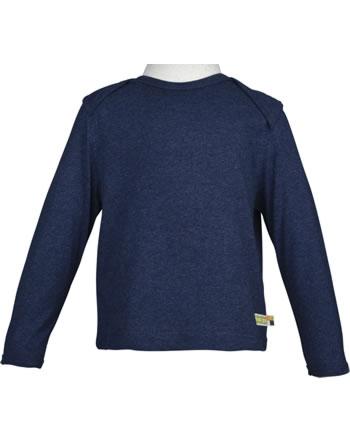 loud + proud T-Shirt Langarm midnight 1032-mi GOTS