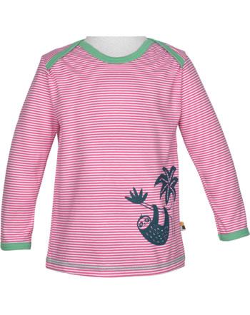 loud + proud T-Shirt Langarm Ringel FAULTIER azalea 1037-aza GOTS