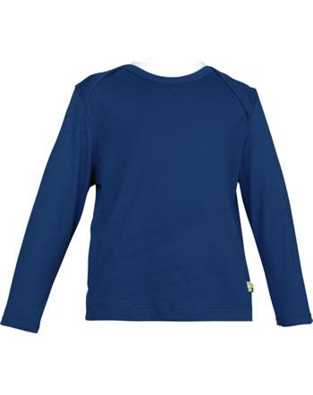 loud + proud T-Shirt Langarm UNI ultramarin 1042-ul GOTS