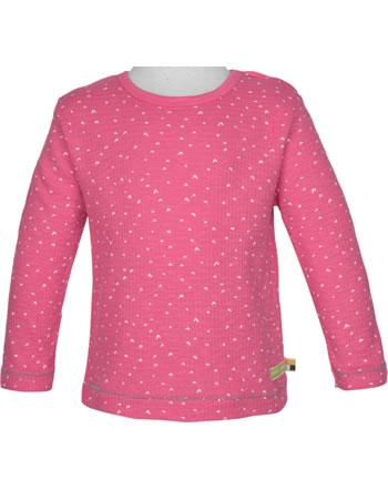 loud + proud T-Shirt Langarm WAFFELSTRUKTUR azalea 1046-aza GOTS