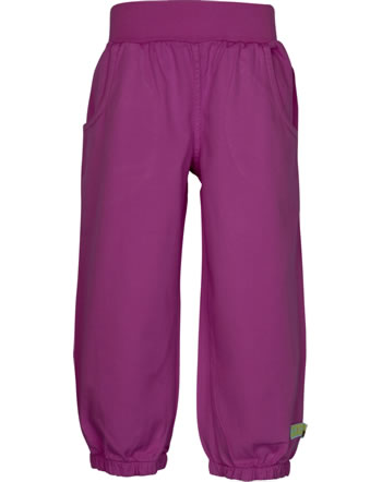 loud + proud Twill pants BASIC orchid 4118-or GOTS