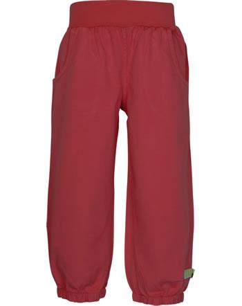 loud + proud Twill pants BASIC tomato 4118-to GOTS
