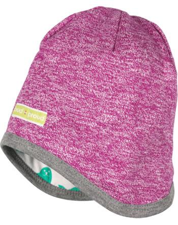 loud + proud Reversible hat berry 7074-ber GOTS