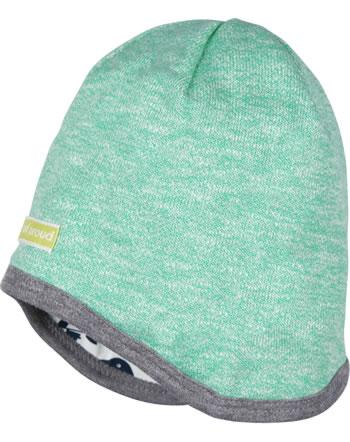 loud + proud Reversible hat jade 7074-jad GOTS