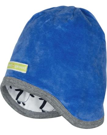 loud + proud Reversible hat cobalt 7073-cob GOTS