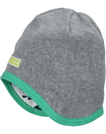 loud + proud Reversible hat grey 7073-gr GOTS