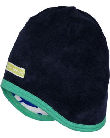 loud + proud Reversible hat midnight 7073-mi GOTS