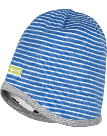 loud + proud Reversible hat cobalt 7051-cob GOTS