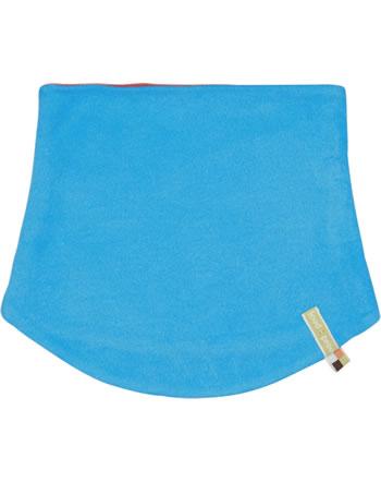 loud + proud Tube scarf to turn Fleece Loop POLAR BEARS & ORCAS aqua 7084-aq