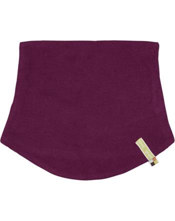 loud + proud Tube scarf to turn Fleece Loop POLAR BEARS & ORCAS plum 7084-plu