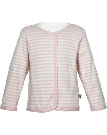 loud + proud Reversible jacket stripes UNDER THE SEA rosé 3079-rs GOTS
