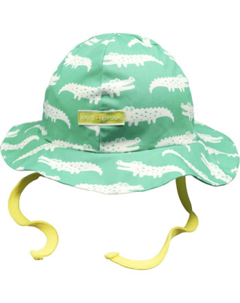 loud + proud Outdoor hat Bionic Finish ECO CROCODILE mint 7070-min GOTS
