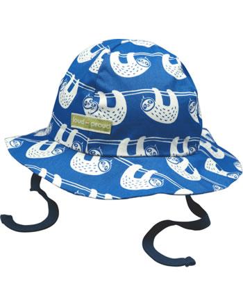 loud + proud Outdoor hat Bionic Finish ECO SLOTH cobalt 7070-cob GOTS