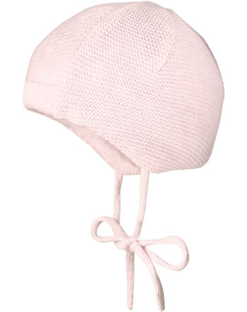 MaxiMo Knitted hat Baby white/light pink 45572-286800-0074