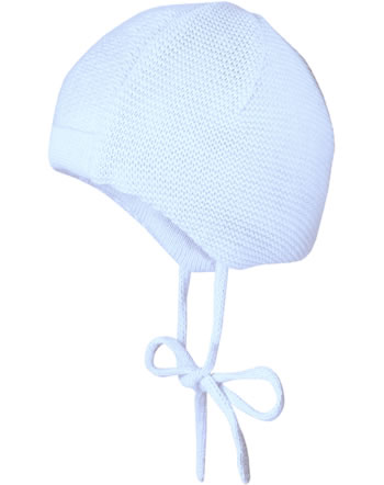 MaxiMo Knitted hat Baby white/light blue 45572-286800-0080
