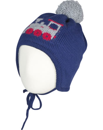 MaxiMo Knitted hat Mini LOCOMOTIVE navy 65575-235000-0048