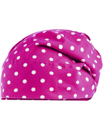 MaxiMo Hat Beanie Dots pink/white 73500-939700-0036