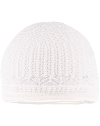 MaxiMo Knitted hat Baby wool white 73588-614800-0038