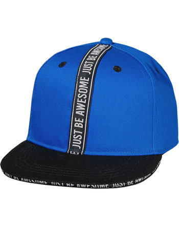 MaxiMo Basecap Kids Boy JUST BE AWESOME bluette 03503-919176-5446