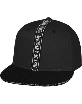 MaxiMo Basecap Kids Boy JUST BE AWESOME schwarz 03503-919176-4646