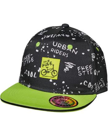 MaxiMo Basecap Kids Boy URBAN RIDERS schwarz 03503-918776-4668