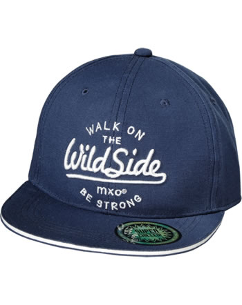 MaxiMo Basecap Kids Boy WALK ON THE WILD SIDE navy/weiß 03503-920876-4801