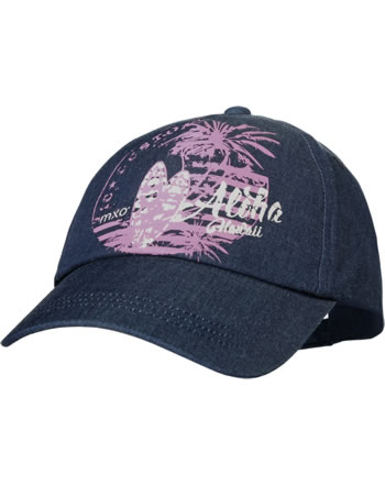 MaxiMo Basecap Kids Girl ALOHA HAWAI dark denim/rose 03503-926576-6341