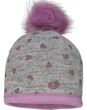 MaxiMo Kids Girl Hat Beanie glitter hearts 83500-015900-49