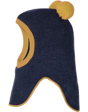 MaxiMo Balaclava hat Pompons navy blue/gold 93506-045600-4829