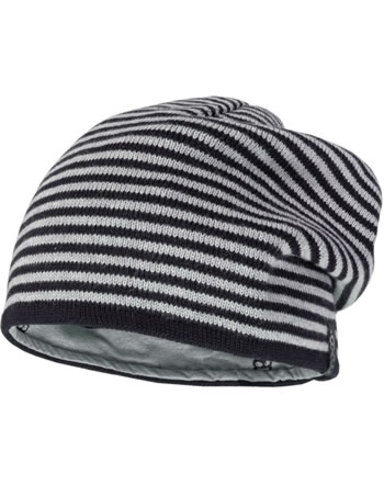 MaxiMo Kids Hat Beanie reversible black/grey 83578-207700-4605