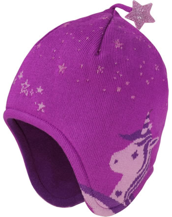 Maximo Kids Bonnet Girl pink/rose bloom 83571-358500-2664