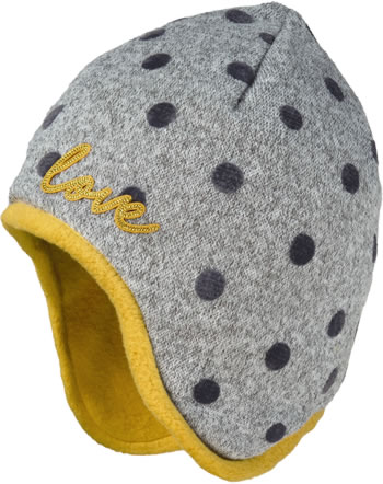 Maximo Kids Bonnet DOTS grey 93500-044376-0040