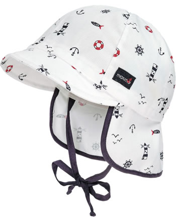MaxiMo baseball cap with neck protection MINI snow lighthouse 14500-075500-0057
