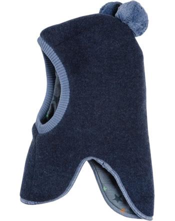 MaxiMo Schlupfmütze Wollfleece navymeliert/sterne 03506-072200-4867