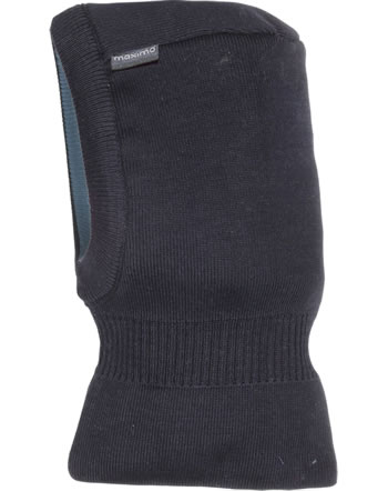 MaxiMo Balaclava hat reversible NOA denim blue/marine 03571-196900-4011