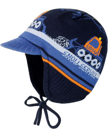 MaxiMo Knitted hat EXCAVATOR navy 55571-317900-0048