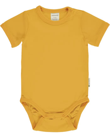 Maxomorra Baby-Body Kurzarm SOLID TANGERINE orange C3503-M569