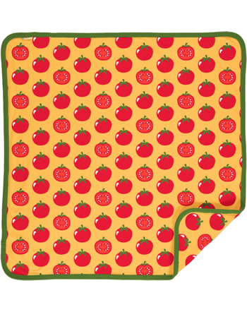 Maxomorra Baby Decke Krabbeldecke 70x70 TOMATO gelb C3471-M493 GOTS