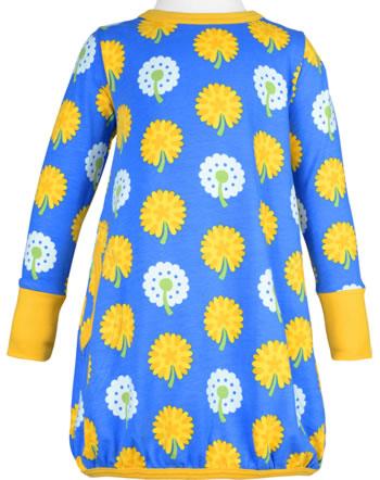 Maxomorra Robe manches longues DANDELION bleu/jaune C3477-M561 GOTS