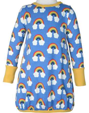 Maxomorra Robe manches longues RAINBOW bleu C3470-M561 GOTS