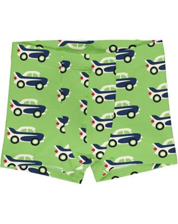 Maxomorra Boxer Shorts CAR vert C3474-M466 GOTS