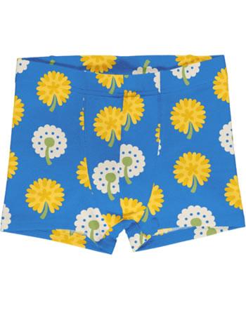 Maxomorra Boxer Shorts DANDELION bleu/jaune C3477-M466 GOTS